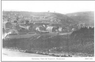 General View from Aber Bargoed across to Viaduct.