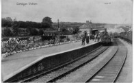 Cardigan Railway Station.