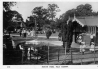 Roath Park play area.