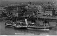 Glenavon Paddle Steamer from transporter Bridge.